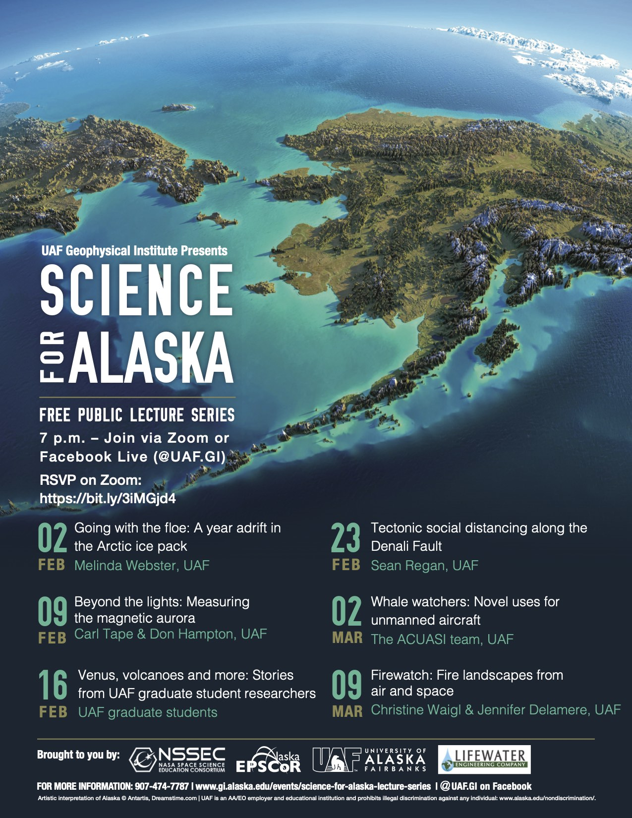2021 Science for Alaska Lecture Series.