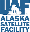Alaska Satellite Facility logo