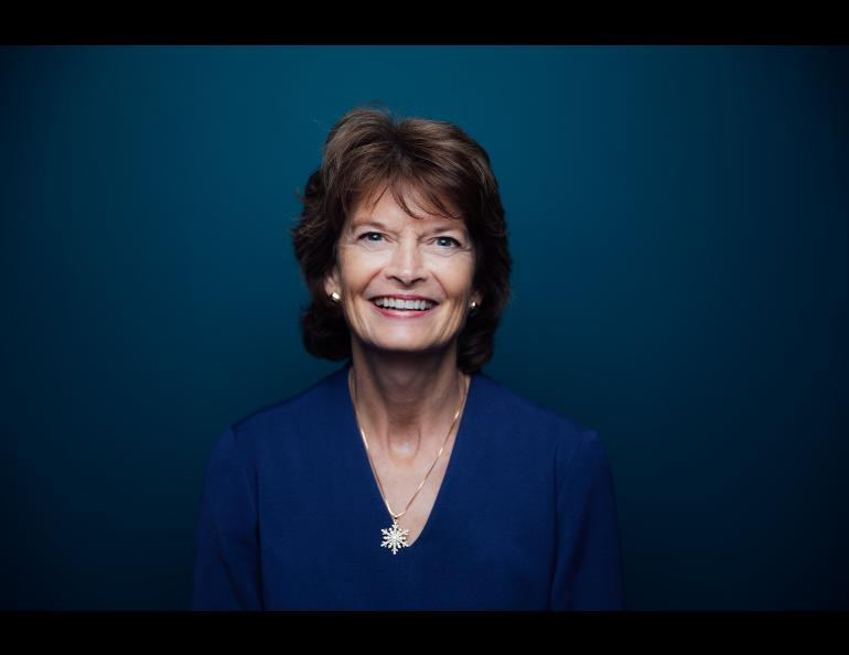 Alaska Sen. Lisa Murkowski featured GI scientists Mike West and David Fee on her podcast. Photo from the office of Lisa Murkowski.