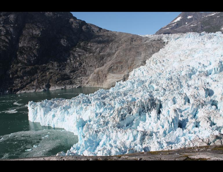 LeConte Glacier, a tidewater glacier about 25 miles from Petersburg, Alaska. Photo by Roman Motyka.