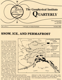 Snow, Ice, and Permafrost article