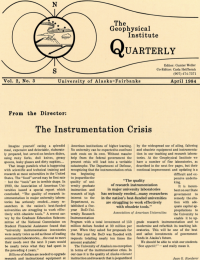 The Instrumentation Crisis